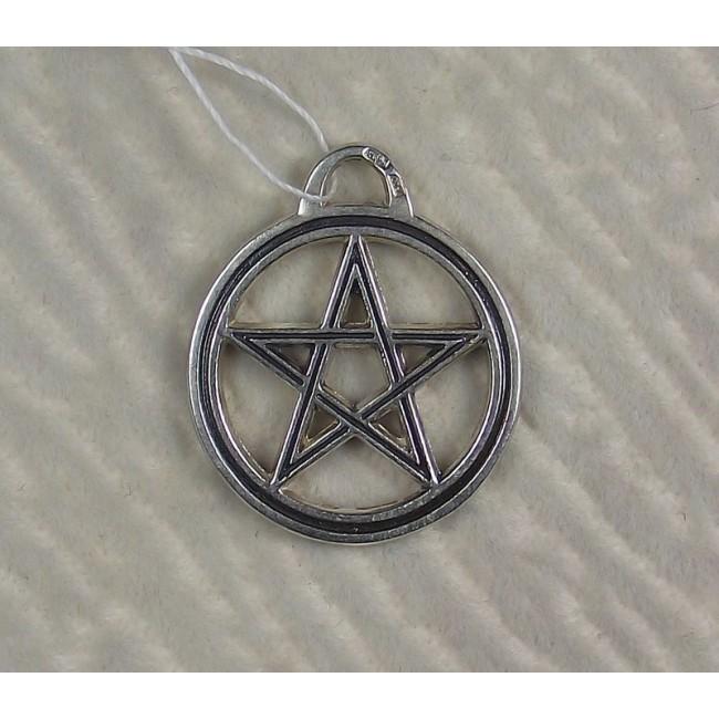 Серебряная пентаграмма могущества света