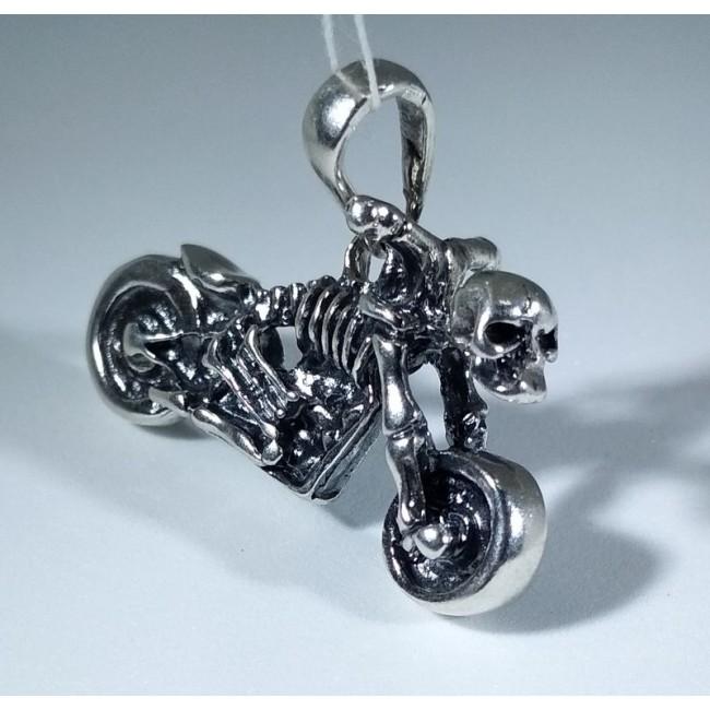мотоцикл скелет