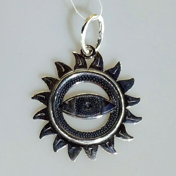 Амулет око в солнце