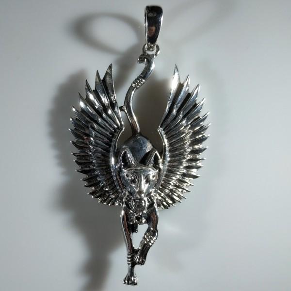 Амулет Бастет с крыльями
