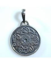 Амулет монета счастья