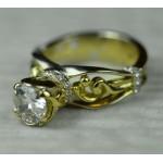 Эксклюзивные золотые кольца с бриллиантами