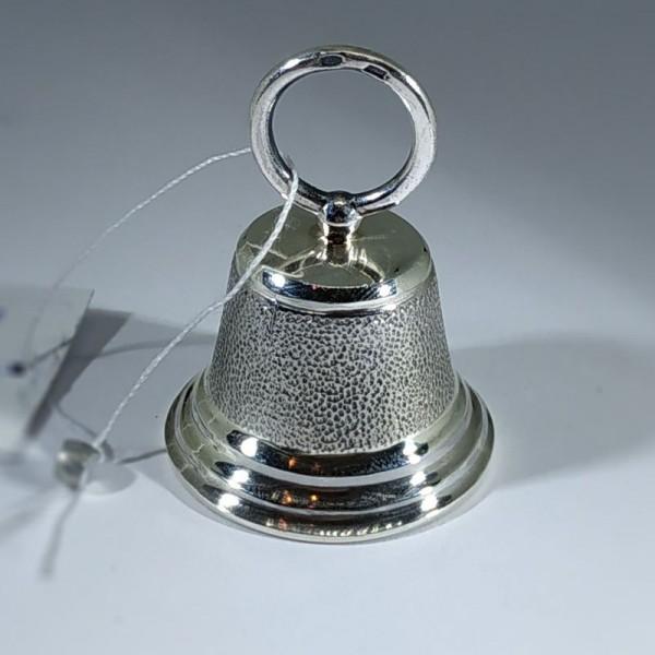 Колокольчик серебряный