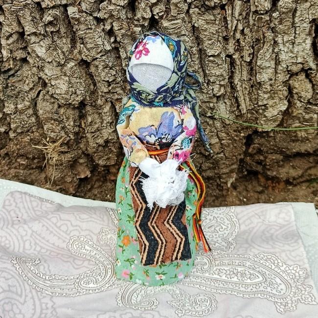 Славянская кукла оберег подорожница
