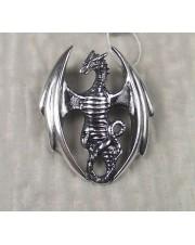 """Подвеска серебряная """"Дракон"""""""