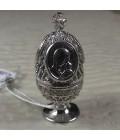 Яйцо пасхальное серебро