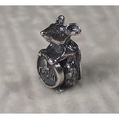 Мышь серебряная с грошем