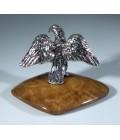 Орел серебряная статуэтка