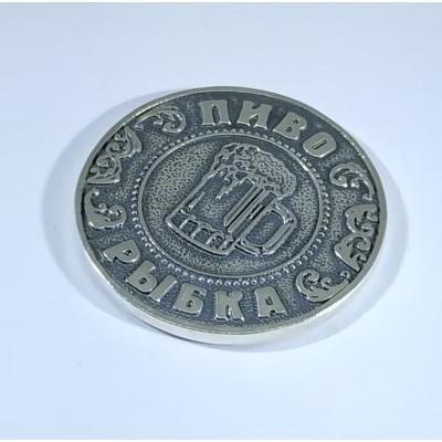 Монета пиво или водка