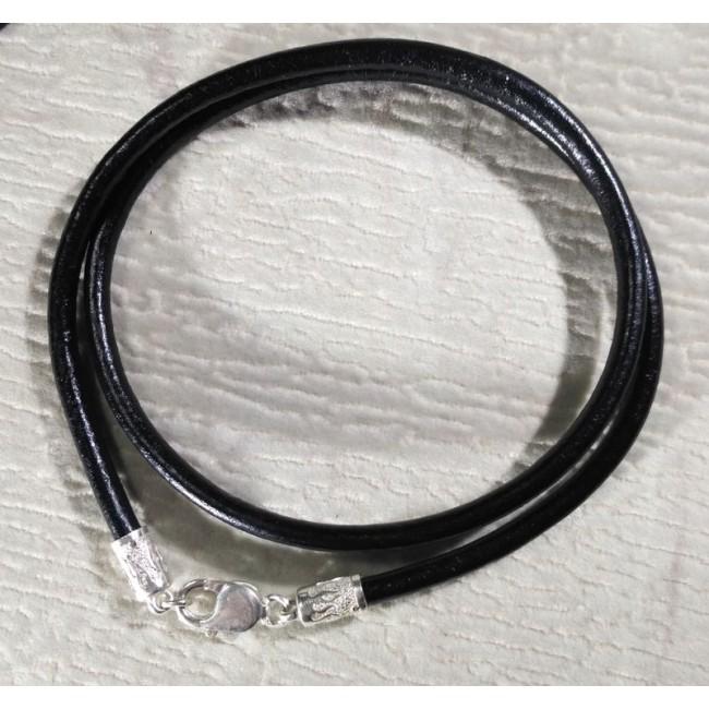 Кожаный шнурок 5 мм