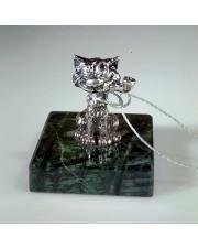 Статуэтка кот с трубкой