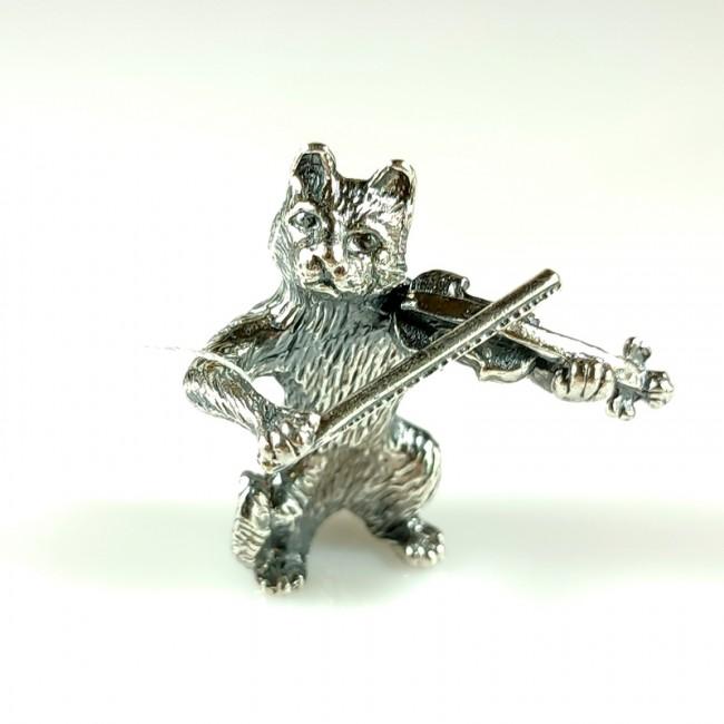 Кот скрипач