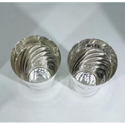Стопки серебряные